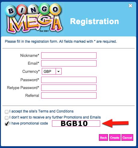 Free bingo games no registration